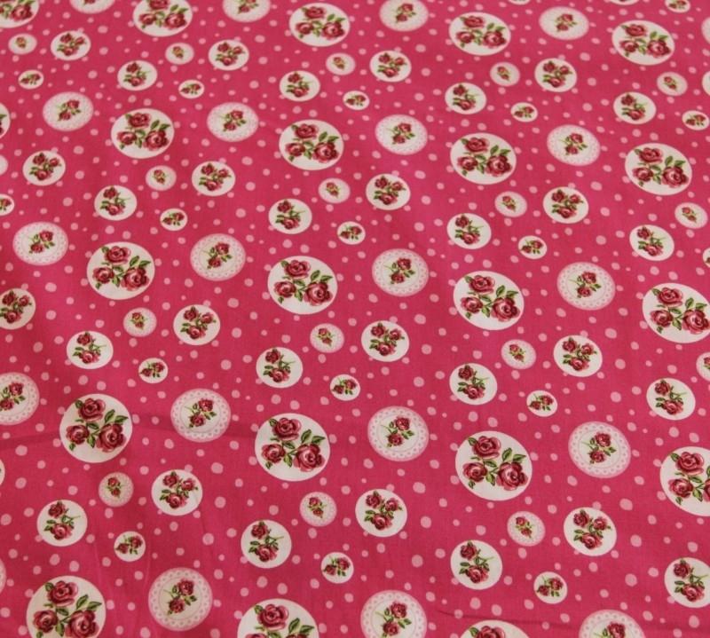 Tafelkleed Roze Roosjes