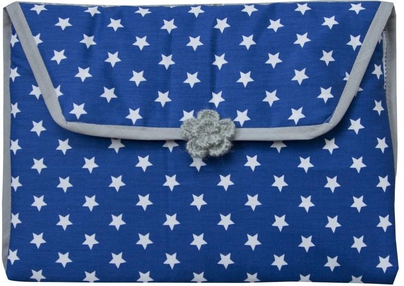 Verschoonmatje Donkerblauwe ster