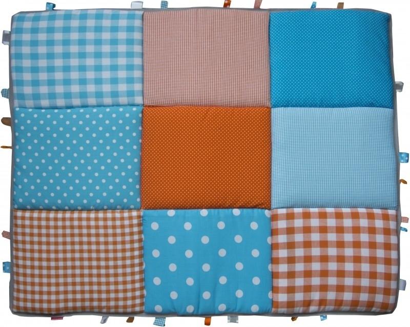 Boxkleed / Speelkleed: Blauw Oranje