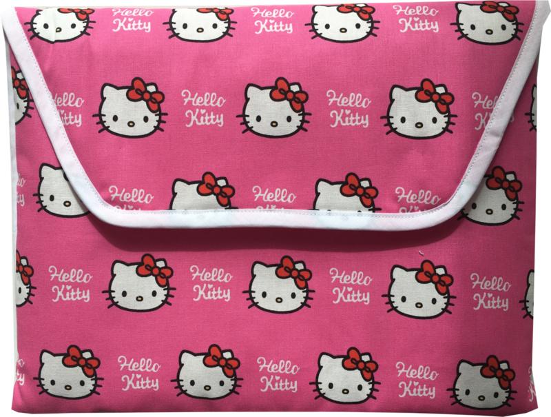Verschoonmatje Hello Kitty Fuchsia