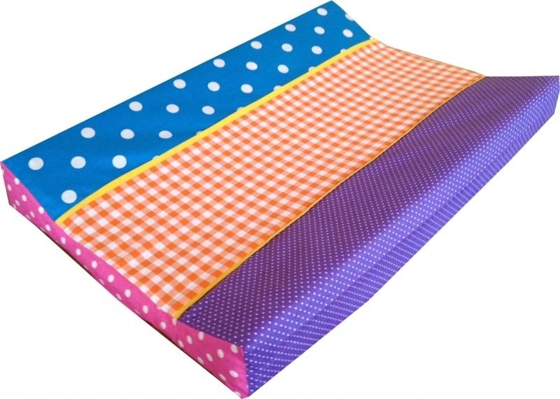 Aankleedkussenhoes Kleurenmix