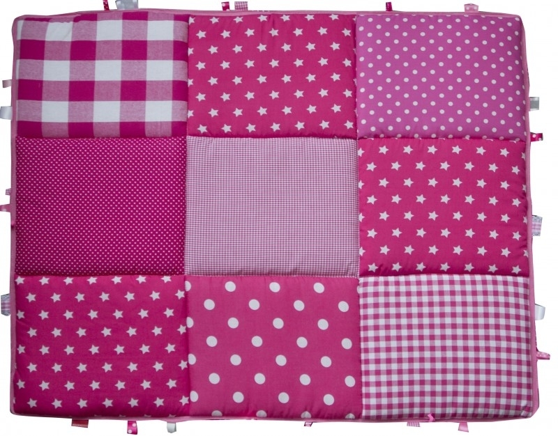 Boxkleed / Speelkleed: Roze Sterren