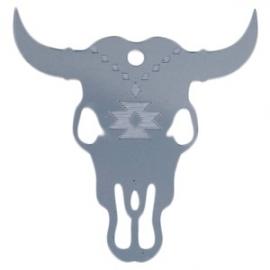 Acryl Stieren kop (Bullhead Skull)