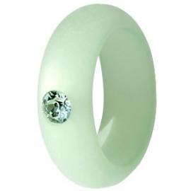 Polaris ring crysolite green 7 mm