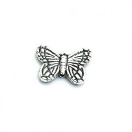 Metalen vlinder kraal