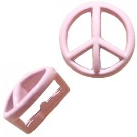Chill schuiver Peace pastel roze