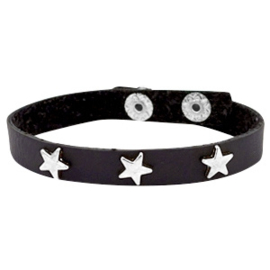 Silver stars dark shadow grey