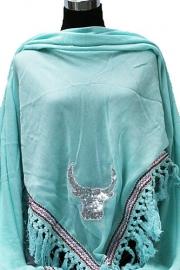 Driehoek sjaal met Buffalo