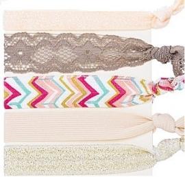 Ibiza zomerse elastische bandjes (5 stuks)