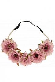 Ibiza bloemen haarband