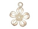 Champagne hanger bloem