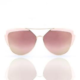Zonnenbril roségoud