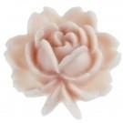 Bloem cabouchon vintage style roze