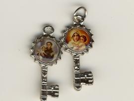 Medaille sleutel katholiek