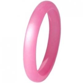 Polaris ring soft rose pink 3 mm