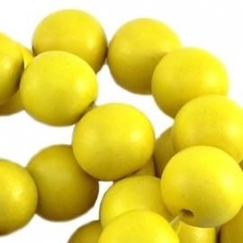 Houten kralen, 8 mm