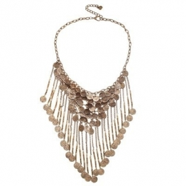 Bohemian statement ketting