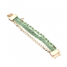 Biba Armband Ibiza Green