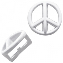 Chill schuiver Peace white