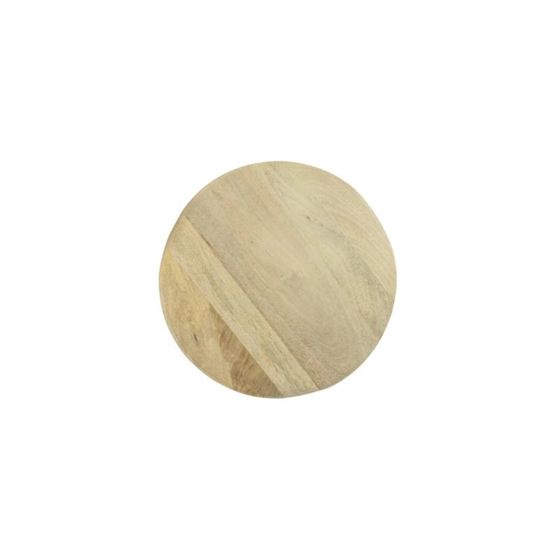 Ronde tafel, eucalyptus, zelfmontage
