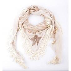 Driehoek sjaal met ster