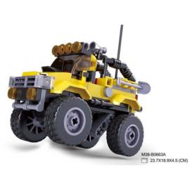 SLUBAN OFFROAD AUTO GEEL M38-B0663A