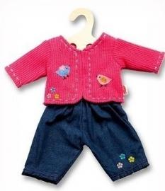 HL1504 Jeans met vestje LICHT BLAUW!!!!