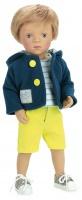 "613413 Doll MINOUCHE 34 cm ""ANTONIN"""