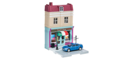 800051   Ice cream parlor with die-cast model