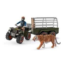 42351 Quad, aanhanger, ranger, tijger.
