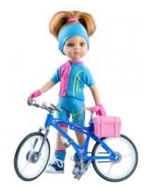 Dasha + fiets 32cm PR04654