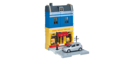 800020  Toy store with VW Golf GTI die-cast model