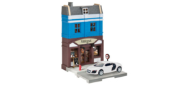 800013   Bakery with Audi R8 die-cast model