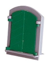 T995301 raam met luiken. 2 stuks