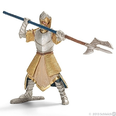 70113 Griffin knight with pole-arm