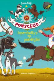 de ponyclub Supershetty's op paardrijles