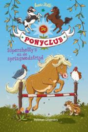 De ponyclub Supershetty's en de springwedstrijd