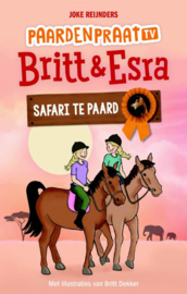 Britt & Esra - Safari te paard