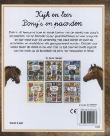 Kijk en leer / Pony's en paarden (LAATSTE EXEMPLAAR)