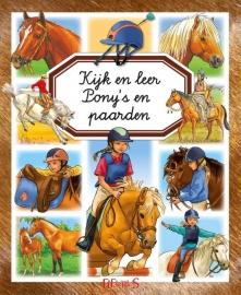 Kijk en leer / Pony's en paarden