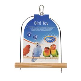 Houten vogelschommel