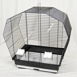 Vogelkooi Kio zwart