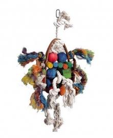 Vogelspeelgoed 121 (papegaai/grote parkiet)