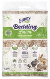 Bunny Nature bunnybedding linum vlasvezel (8 x 35 liter)