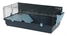 Konijnenkooi / caviakooi Indoor2 120cm Grijs / Blauw