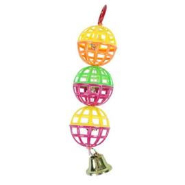 Speelballetjes met bellen 15cm