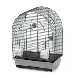 Vogelkooi Lusi 1 grijs/zwart