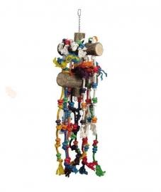 Vogelspeelgoed 165 (papegaai/grote parkiet)