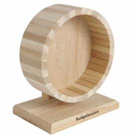 Looprad hout 15cm