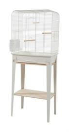 Vogelkooi CHIC LOFT 2 met meubel wit
